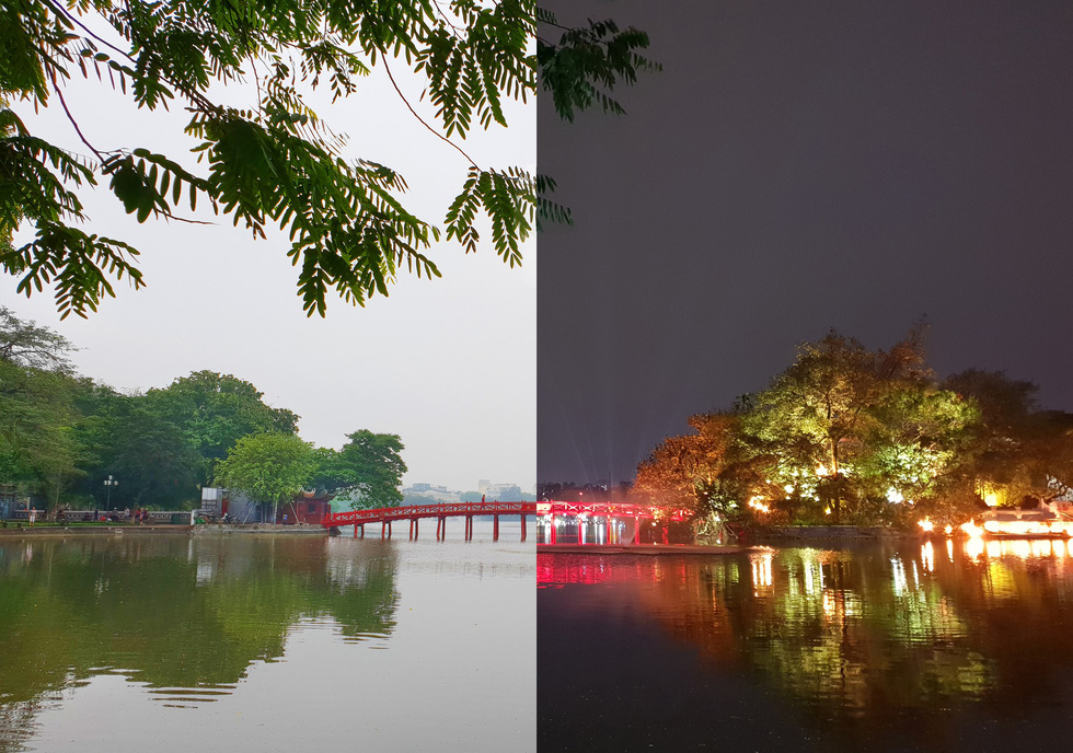 Hà Nội ngày và đêm đẹp lạ qua kiểu chụp 'Chuyện 69' - Ảnh 3.