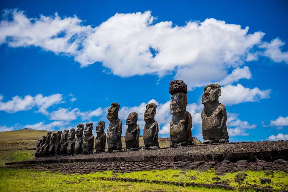 Đảo Phục Sinh và những bức tượng Moai bí ẩn - Ảnh 4.