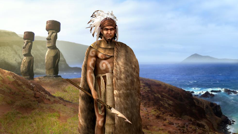Đảo Phục Sinh và những bức tượng Moai bí ẩn - Ảnh 5.