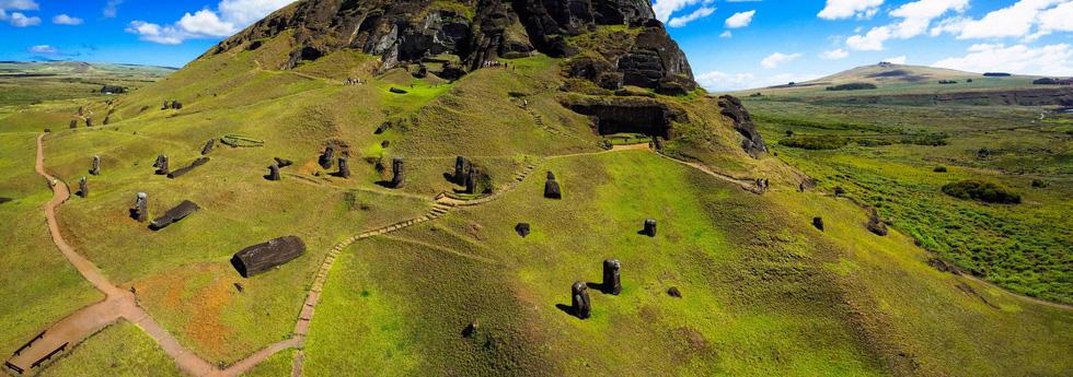 Đảo Phục Sinh và những bức tượng Moai bí ẩn - Ảnh 7.
