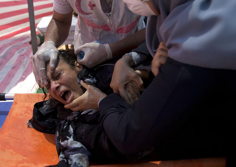 Ngày trở về đẫm máu và nước mắt của người Palestine - Ảnh 16.