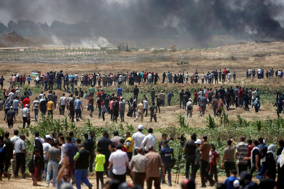 Ngày trở về đẫm máu và nước mắt của người Palestine - Ảnh 3.