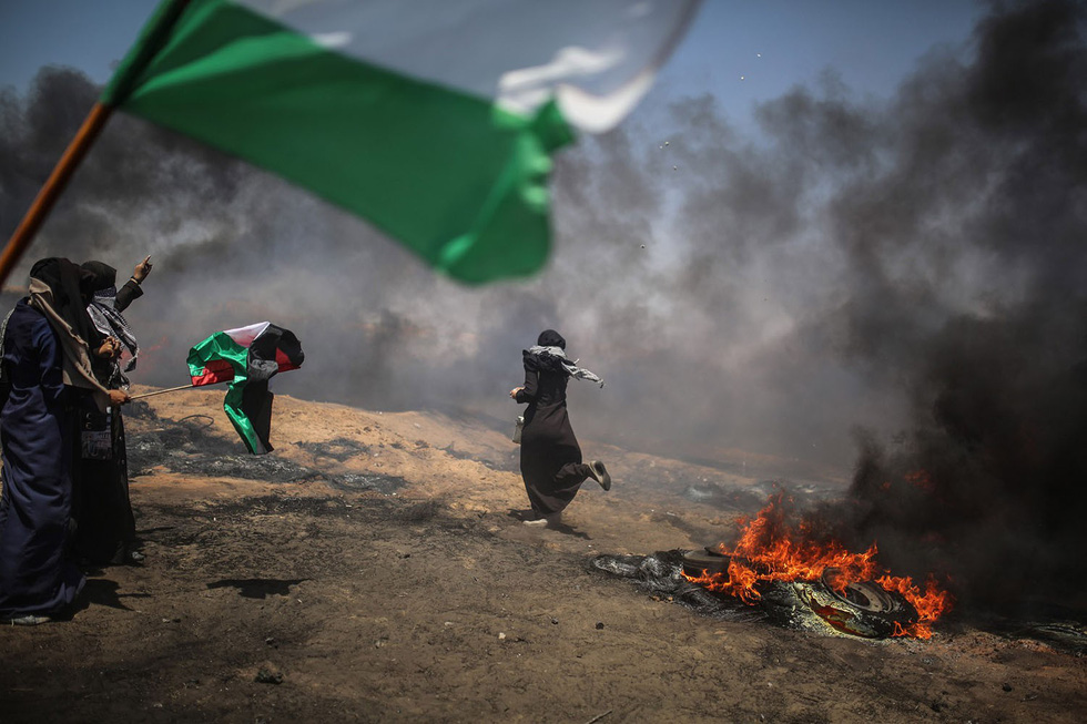 Ngày trở về đẫm máu và nước mắt của người Palestine - Ảnh 14.