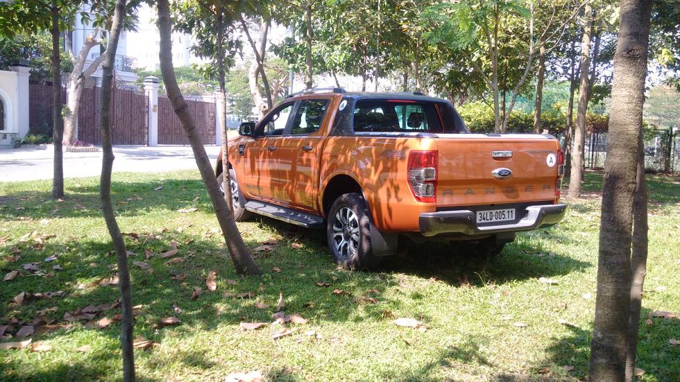 Đánh giá xe Ranger Wildtrak: Bán tải dạo phố, ổn không? - Ảnh 5.