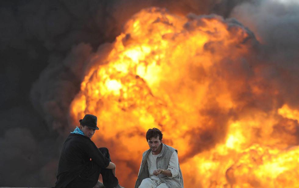 Những bức ảnh còn lại của phóng viên AFP vừa mất trong vụ đánh bom - Ảnh 3.