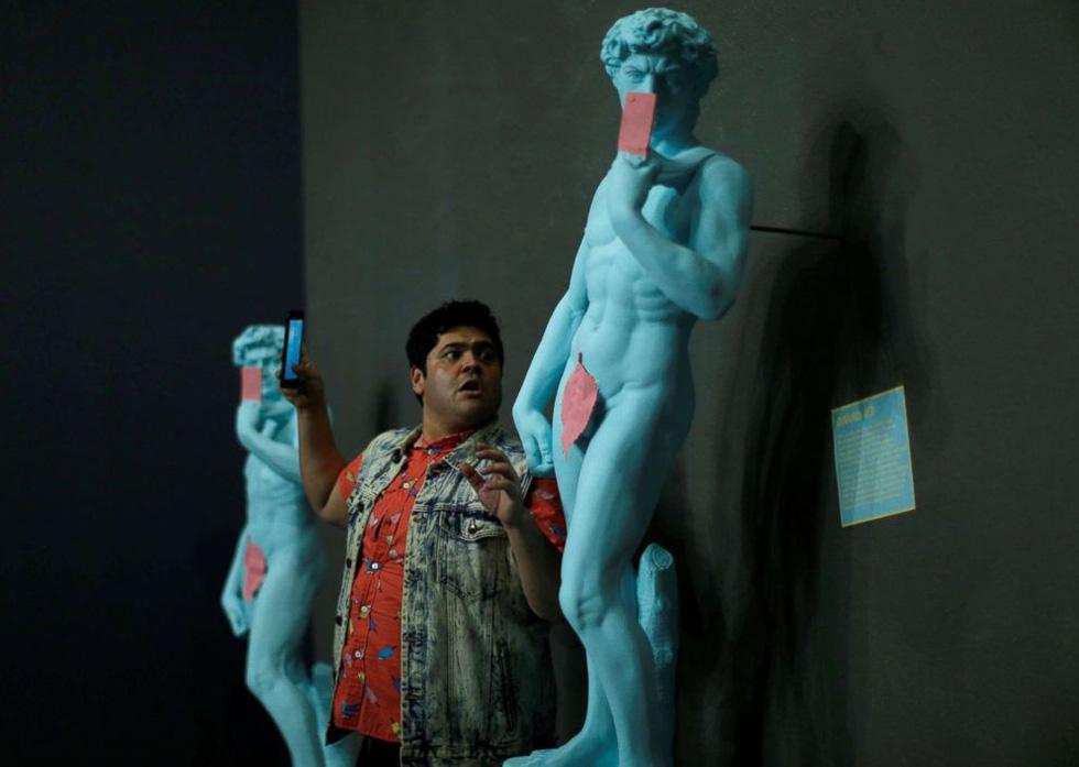 Thỏa sức 'selfie' tại Bảo tàng chụp ảnh tự sướng California - Ảnh 8.