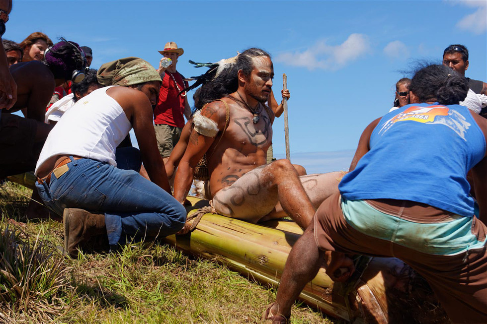 Chơi đủ trò tại lễ hội Tapati của cư dân Đảo Phục Sinh - Ảnh 7.