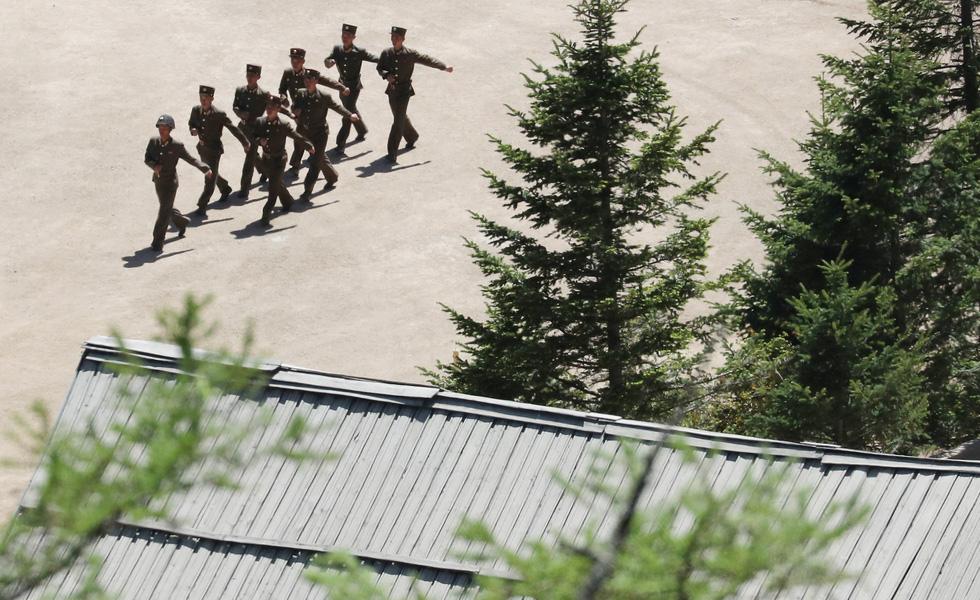 Cận cảnh phá bỏ bãi thử hạt nhân Punggye-ri của Triều Tiên - Ảnh 8.