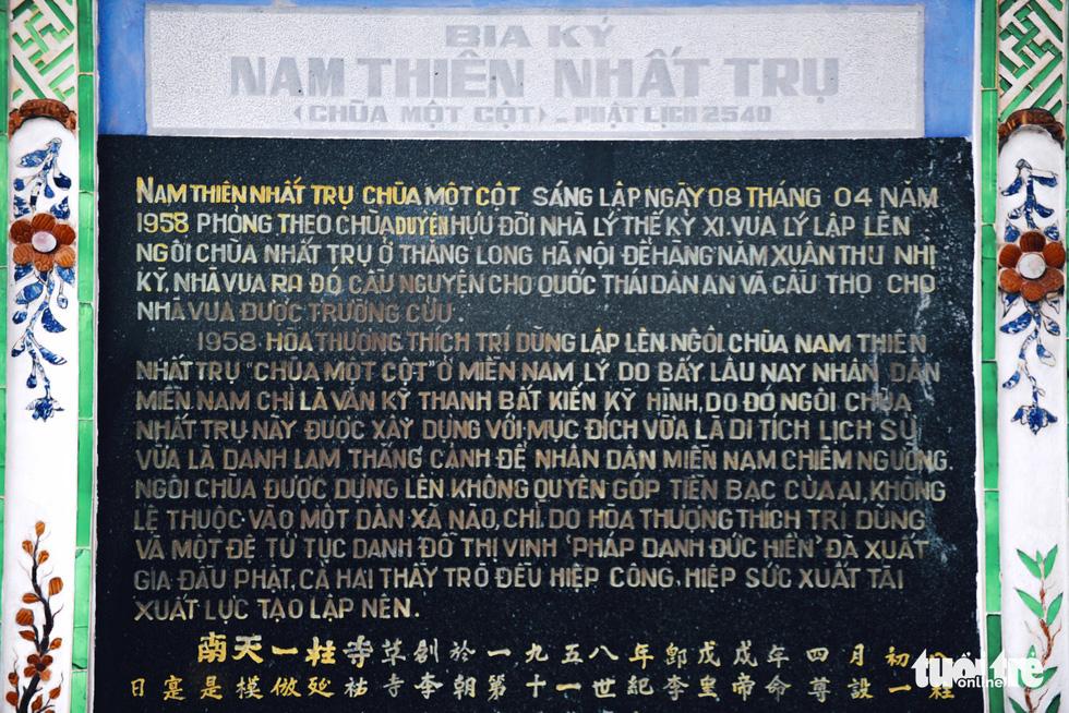 Mùa Phật Đản đi lễ chùa Một Cột tại Sài Gòn - Ảnh 3.