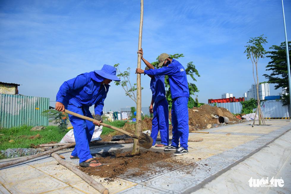 TP.HCM thông xe cầu qua đảo Kim Cương - Ảnh 11.