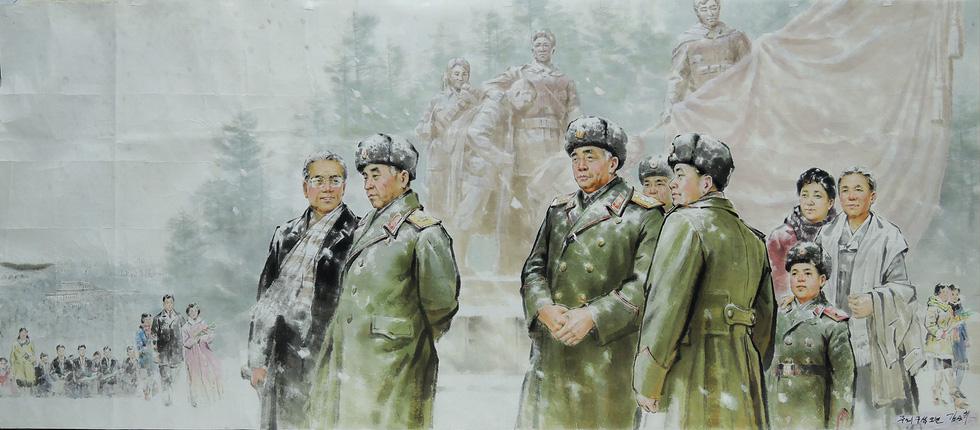 Tranh cổ động Triều Tiên: mỏ vàng hàng triệu đô-la - Ảnh 7.