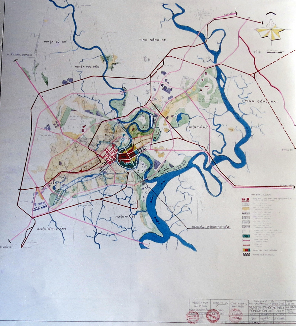 TP.HCM mượn bộ bản đồ Thủ Thiêm của cựu chủ tịch Võ Viết Thanh - Ảnh 3.