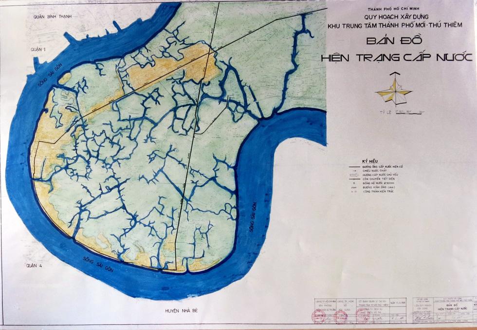 TP.HCM mượn bộ bản đồ Thủ Thiêm của cựu chủ tịch Võ Viết Thanh - Ảnh 6.