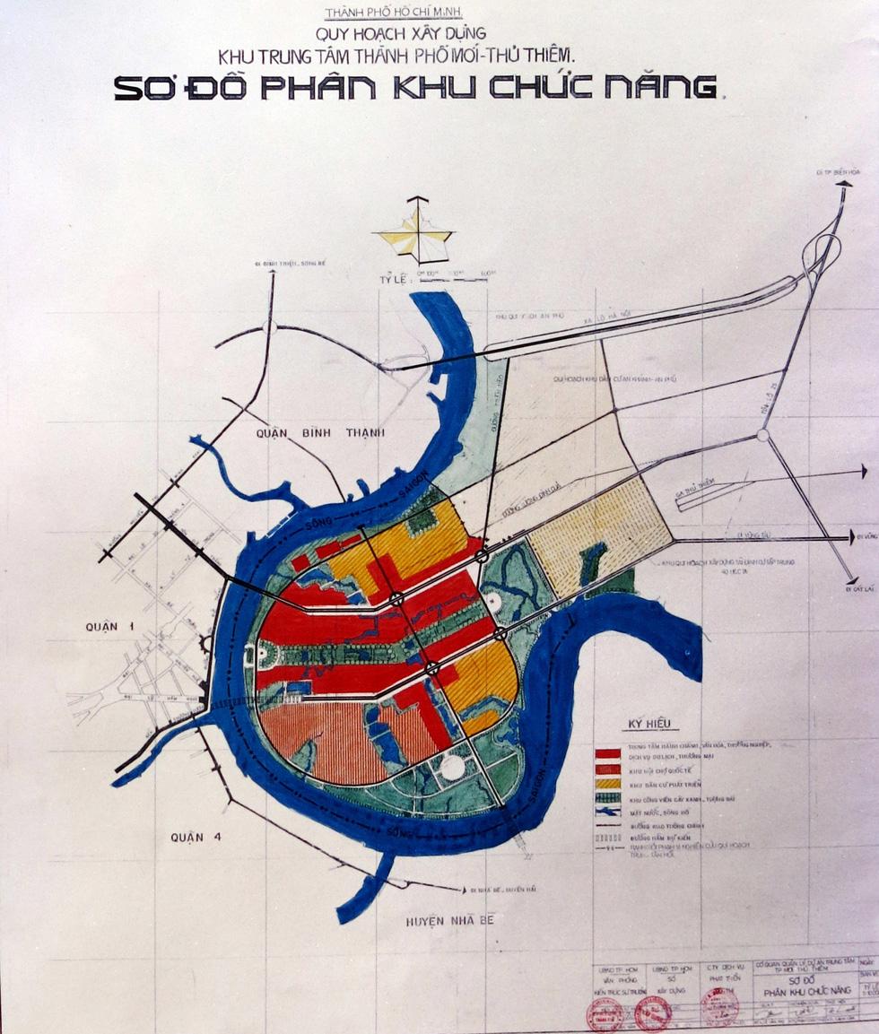 TP.HCM mượn bộ bản đồ Thủ Thiêm của cựu chủ tịch Võ Viết Thanh - Ảnh 7.