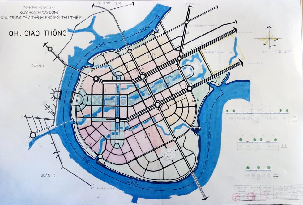 TP.HCM mượn bộ bản đồ Thủ Thiêm của cựu chủ tịch Võ Viết Thanh - Ảnh 9.