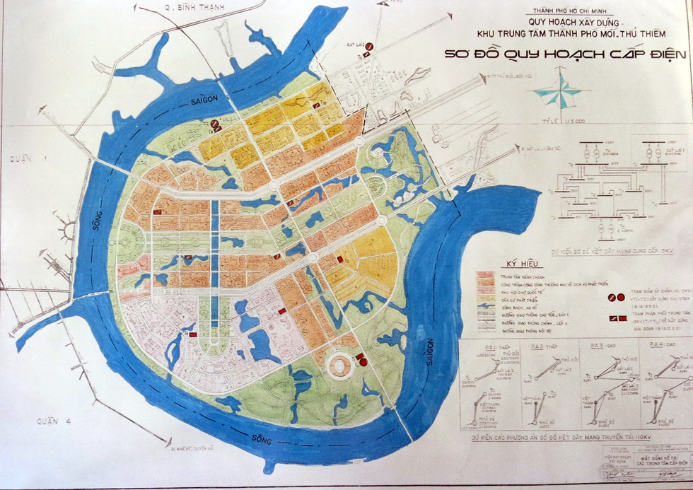TP.HCM mượn bộ bản đồ Thủ Thiêm của cựu chủ tịch Võ Viết Thanh - Ảnh 10.