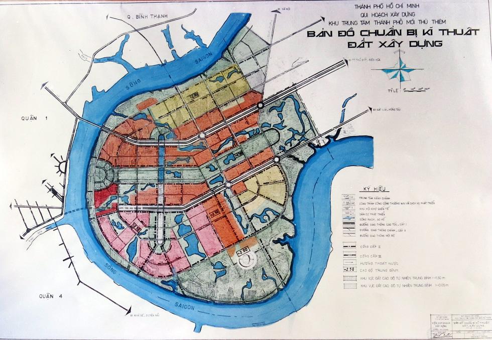 TP.HCM mượn bộ bản đồ Thủ Thiêm của cựu chủ tịch Võ Viết Thanh - Ảnh 12.
