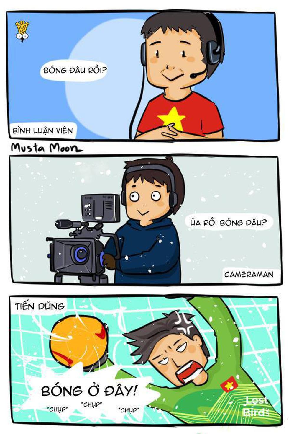 Loạt hình vẽ đáng yêu về hành trình đáng nhớ của U23 Việt Nam - Ảnh 5.