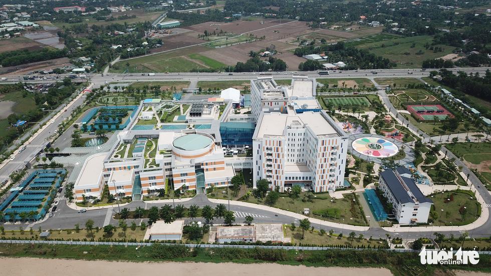 Cận cảnh bệnh viện nhi 4.500 tỉ có bãi trực thăng tại TP.HCM - Ảnh 4.