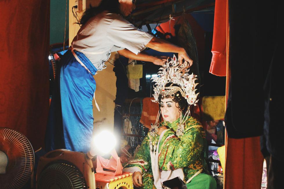 Tuồng cổ Ngọc Khanh - đoàn hát bội hiếm hoi ở Sài Gòn - Ảnh 9.