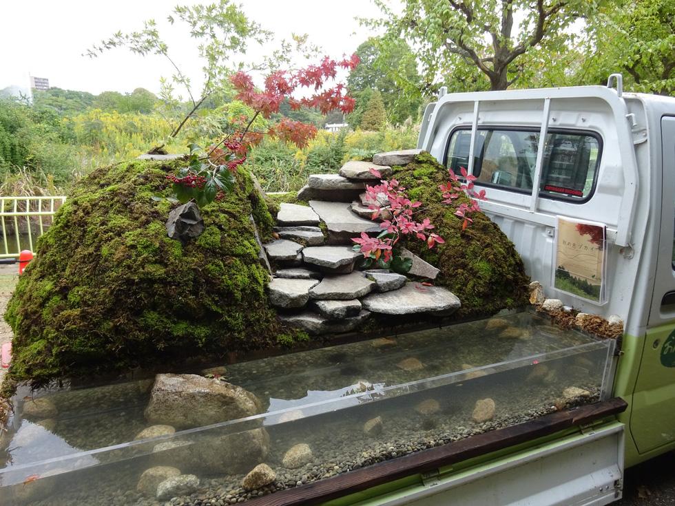 Thiếu đất, người Nhật thi nhau làm vườn trên xe tải - Ảnh 3.