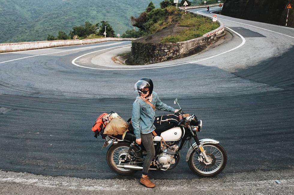 Nữ phượt thủ xuyên Việt độc hành bằng xe máy - Ảnh 5.