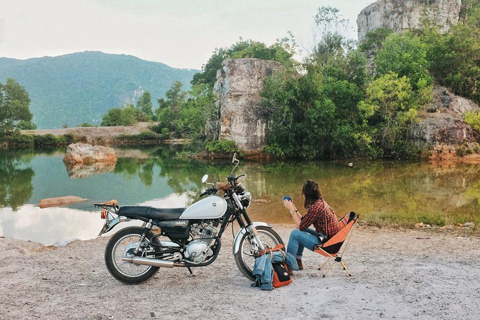 Nữ phượt thủ xuyên Việt độc hành bằng xe máy - Ảnh 11.