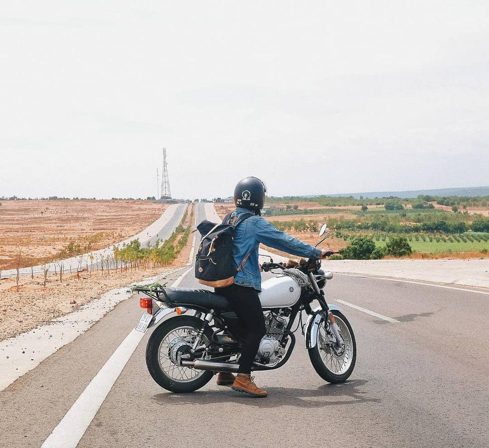 Nữ phượt thủ xuyên Việt độc hành bằng xe máy - Ảnh 12.
