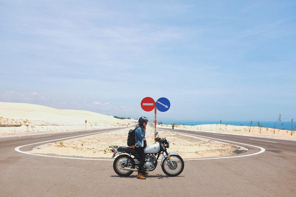 Nữ phượt thủ xuyên Việt độc hành bằng xe máy - Ảnh 13.