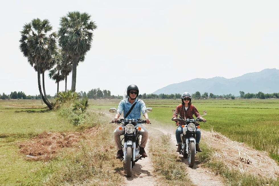Nữ phượt thủ xuyên Việt độc hành bằng xe máy - Ảnh 6.