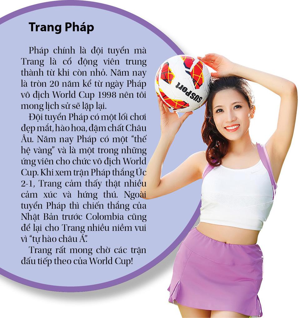 World Cup: sao Việt thích Brazil, Pháp, Đức... - Ảnh 3.