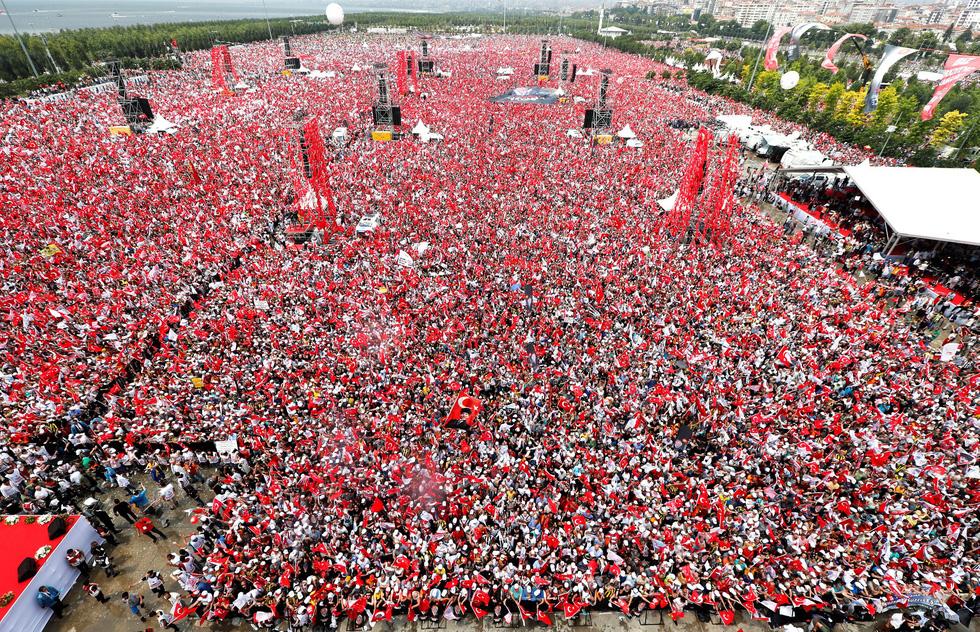 Sắc màu bầu cử Thổ Nhĩ Kỳ - Ảnh 6.