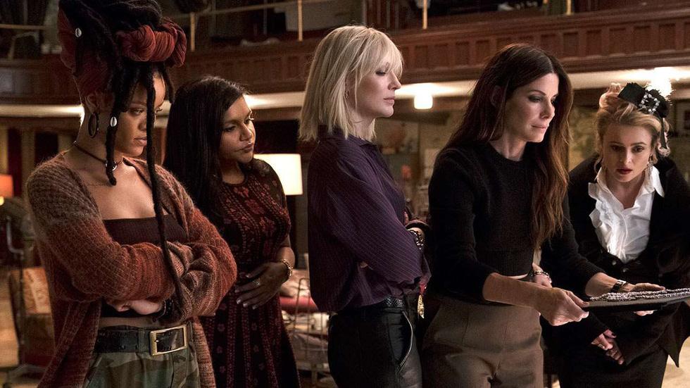 Oceans 8, Tiên hắc ám 2 và cái bẫy nữ quyền giả hiệu ở Hollywood - Ảnh 4.