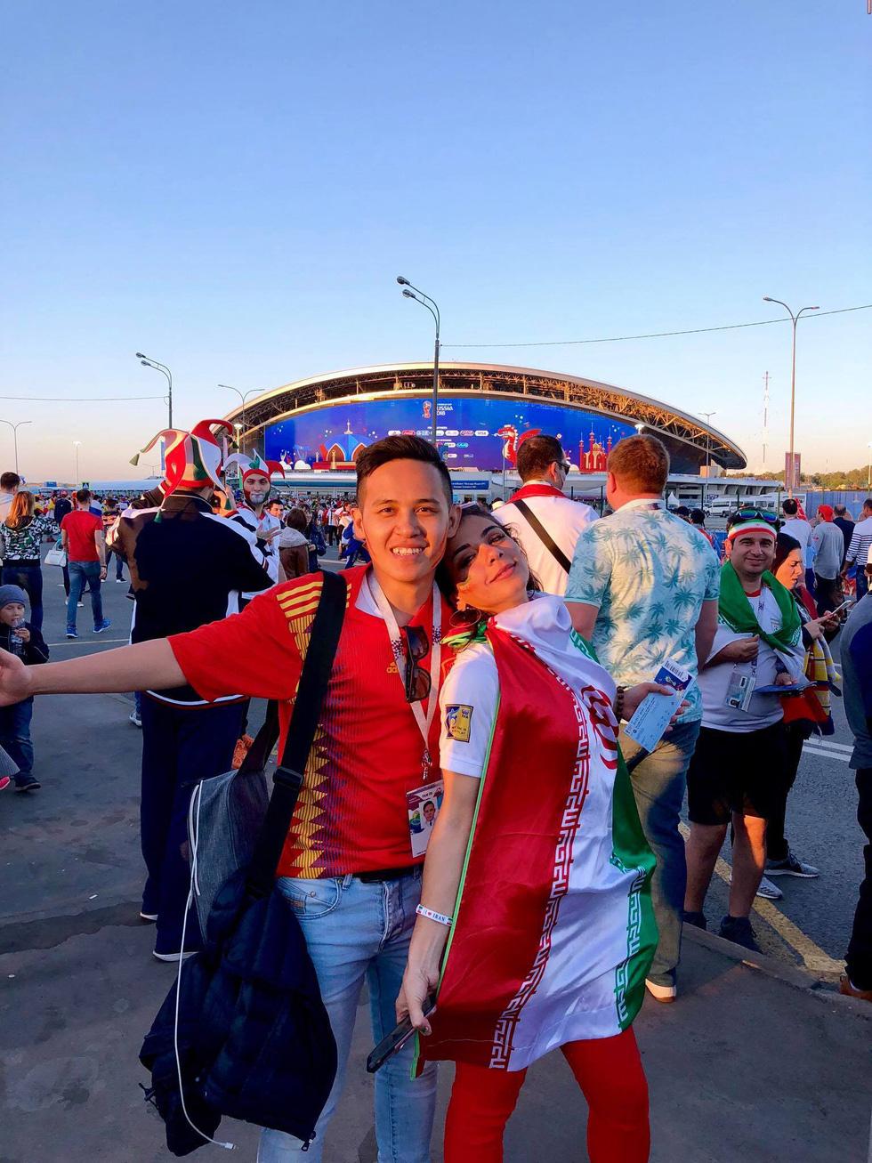 Theo chân chàng trai Việt tận hưởng không khí World Cup 2018 - Ảnh 6.