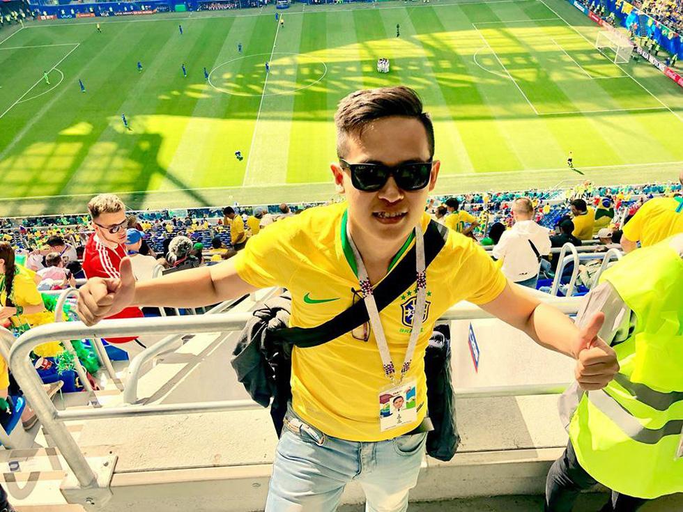 Theo chân chàng trai Việt tận hưởng không khí World Cup 2018 - Ảnh 9.