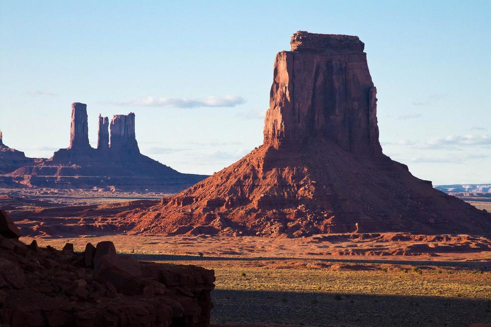 Monument Valley nổi tiếng trong các phim cao bồi viễnTây - Ảnh 1.