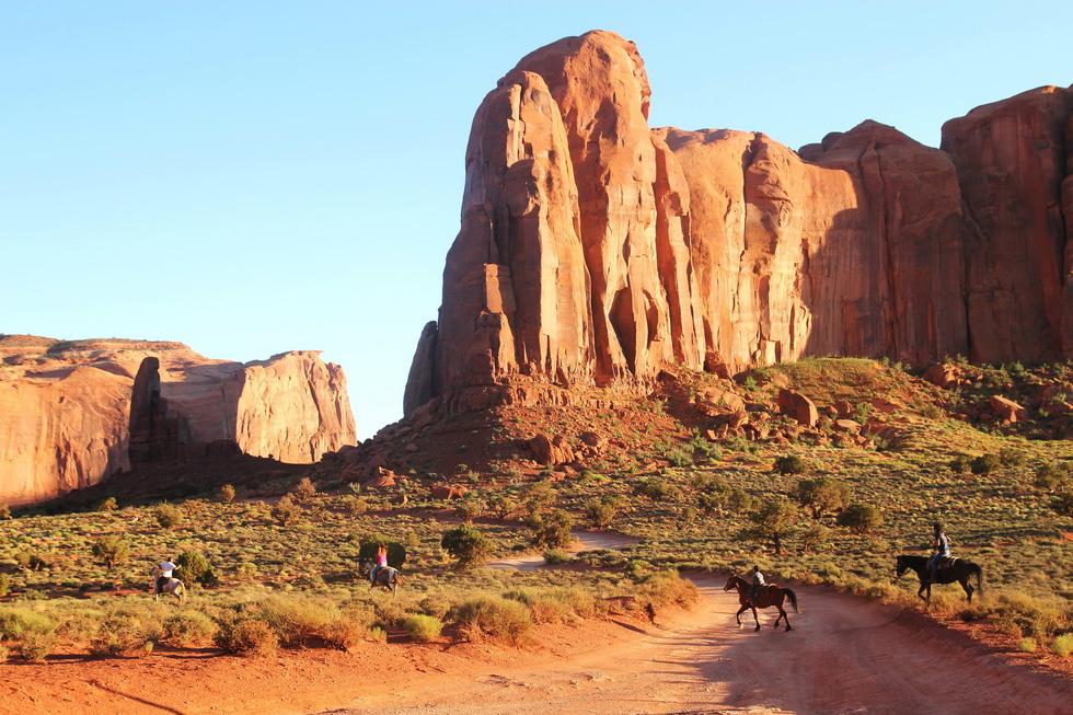 Monument Valley nổi tiếng trong các phim cao bồi viễnTây - Ảnh 4.
