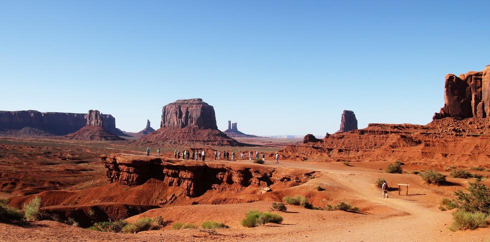 Monument Valley nổi tiếng trong các phim cao bồi viễnTây - Ảnh 6.