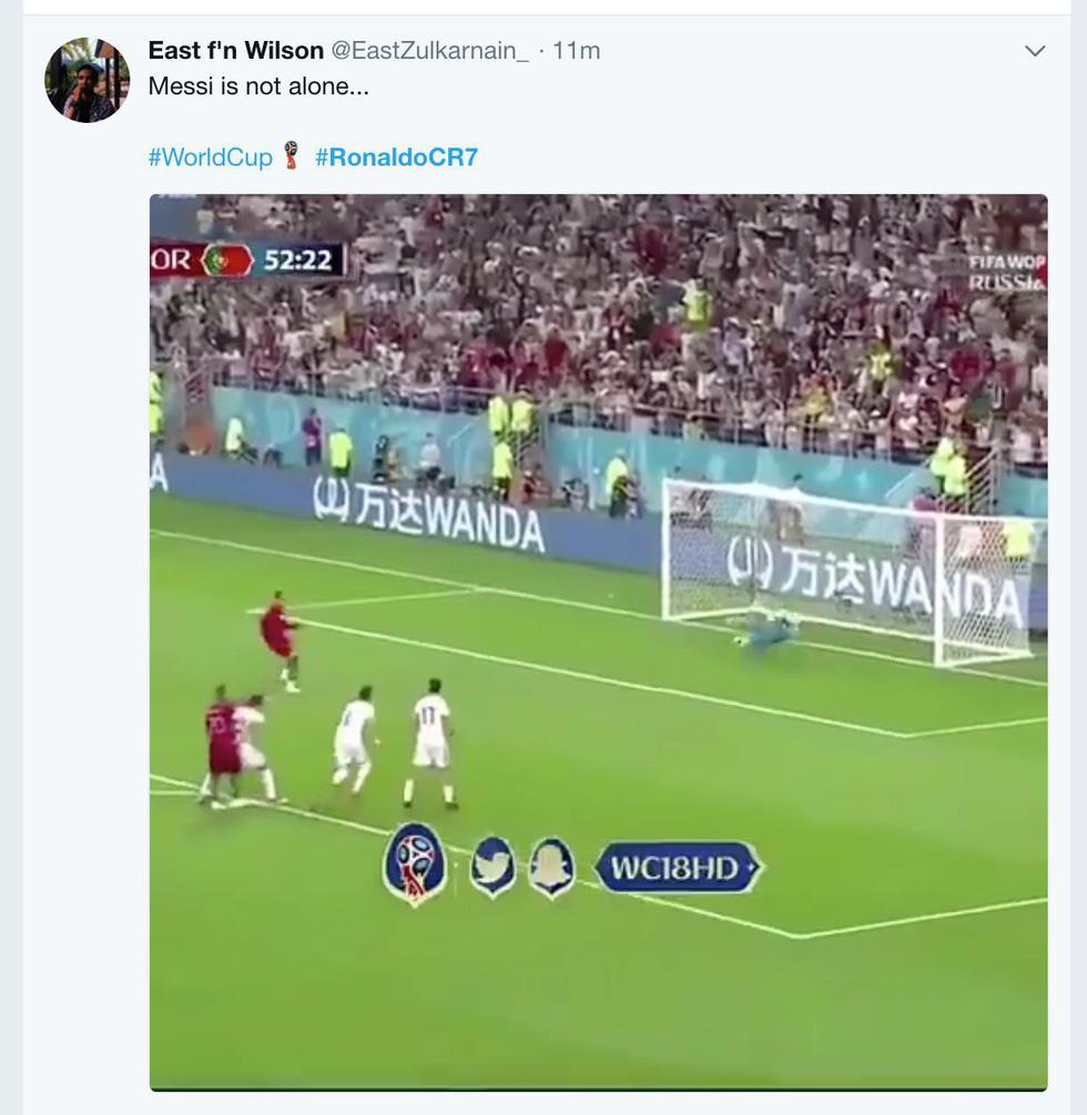 Ronaldo xấu xí, dân mạng... chúc mừng Messi - Ảnh 2.