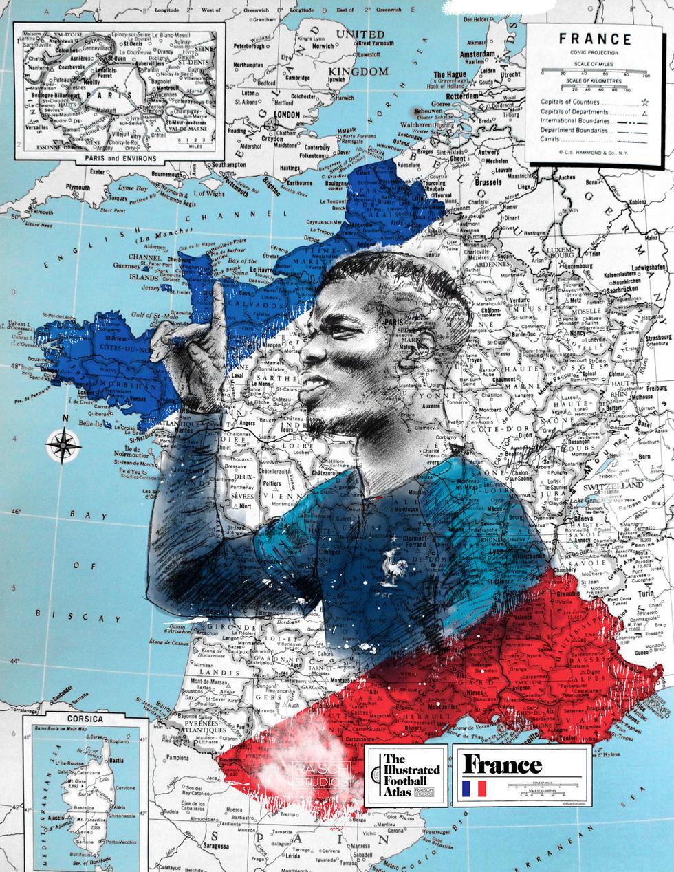 Tình yêu bóng đá và bản đồ độc lạ của fan ruột World Cup - Ảnh 11.