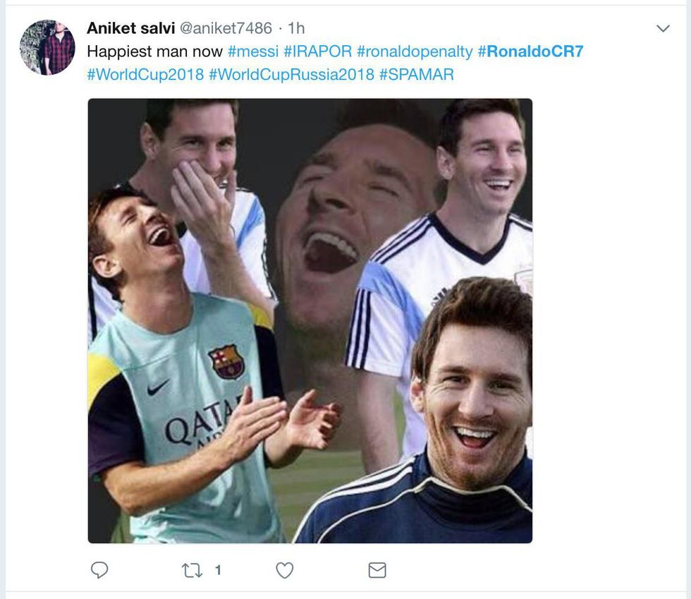 Ronaldo xấu xí, dân mạng... chúc mừng Messi - Ảnh 3.