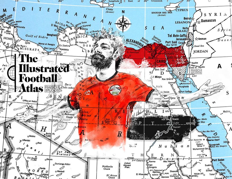 Tình yêu bóng đá và bản đồ độc lạ của fan ruột World Cup - Ảnh 3.