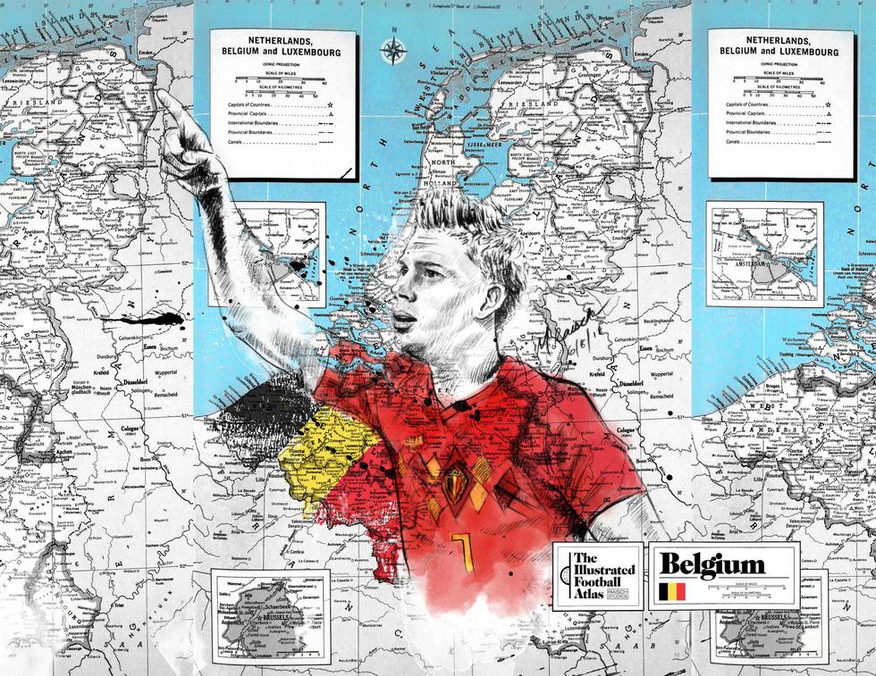 Tình yêu bóng đá và bản đồ độc lạ của fan ruột World Cup - Ảnh 5.