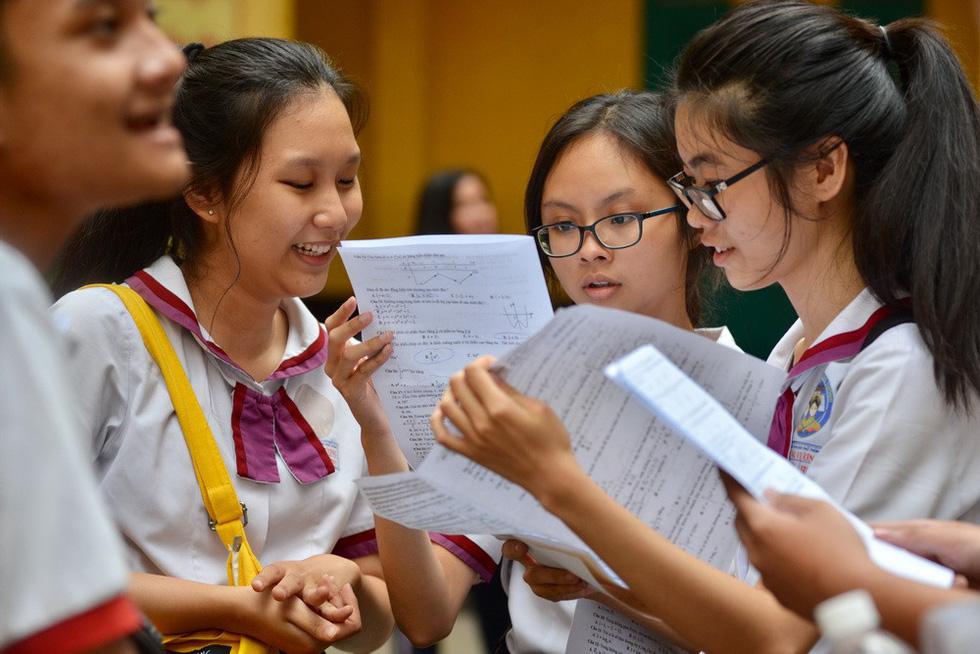 Đáp án môn toán kỳ thi THPT quốc gia 2018 - Ảnh 1.