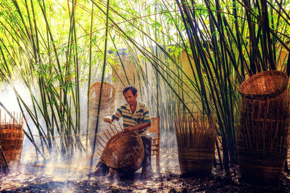 Ảnh ngoại đan nón lá lên National Geographic - Ảnh 9.