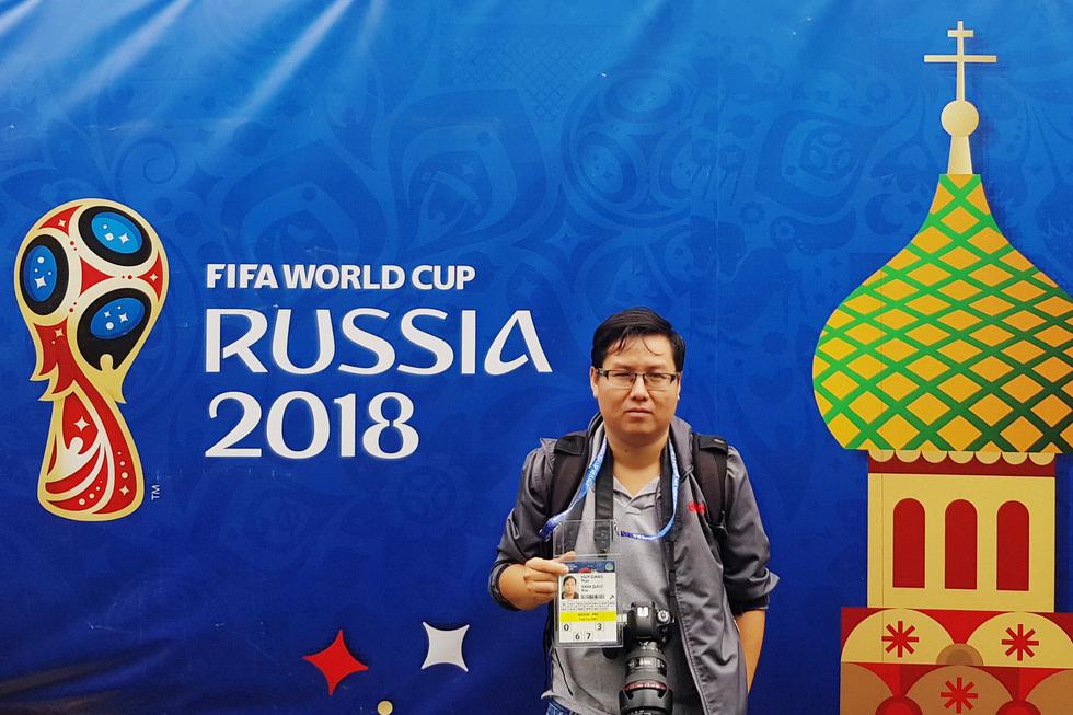 Phóng viên Tuổi Trẻ có thẻ tác nghiệp World Cup 2018 như thế nào? - Ảnh 1.