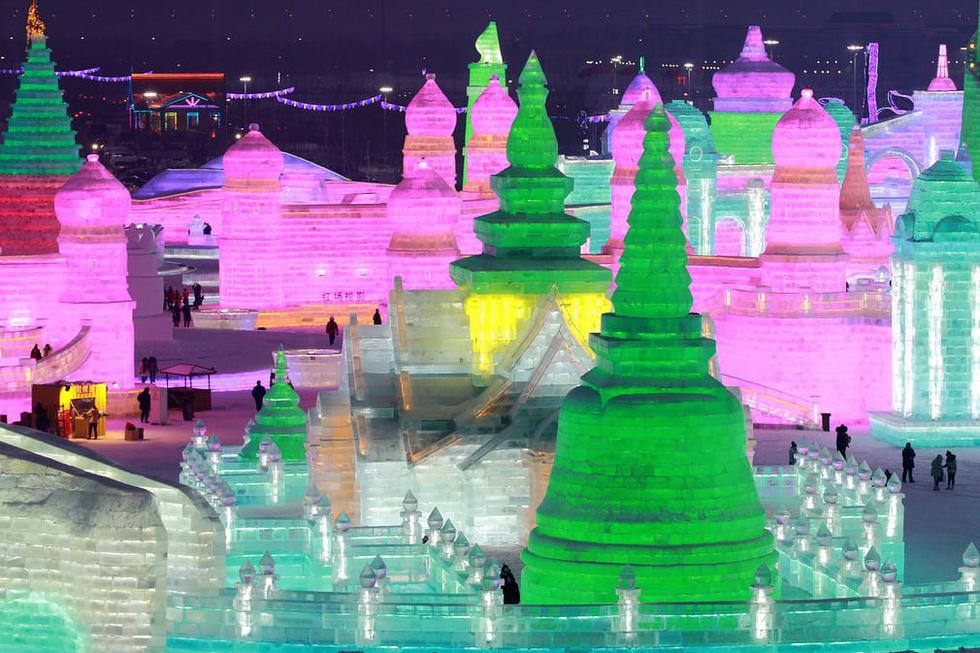 Sang Hàn Quốc và Trung Quốc vui lễ hội băng tuyết - Ảnh 7.