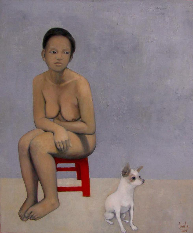 Họa sĩ Việt tung tranh vẽ chó đón năm Mậu Tuất  - Ảnh 11.