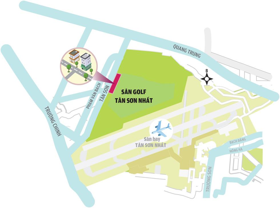 Đất quốc phòng sân bay Tân Sơn Nhất, có tiền là dễ dàng mua - Ảnh 3.
