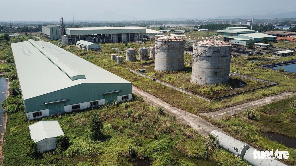 Dự án Ethanol nghìn tỉ ở Phú Thọ trở thành đống rỉ sét - Ảnh 2.